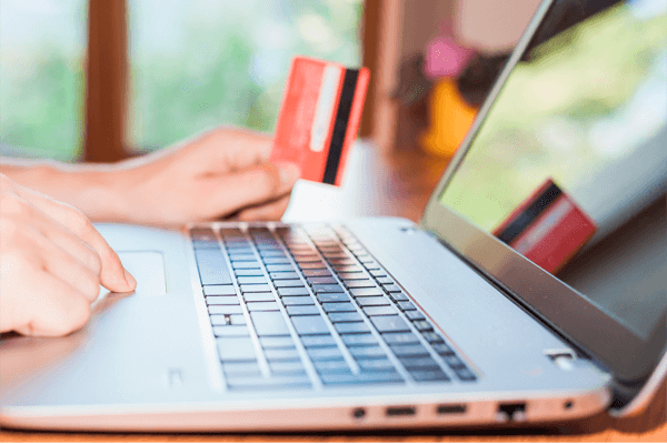Online payment with card