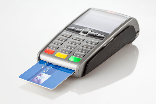 Ingenico Payment terminal iWL250 with bankcard front view