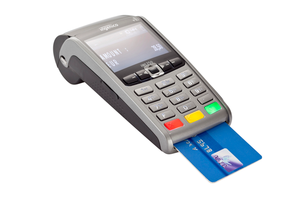 Ingenico Payment terminal iWL250 with bank card