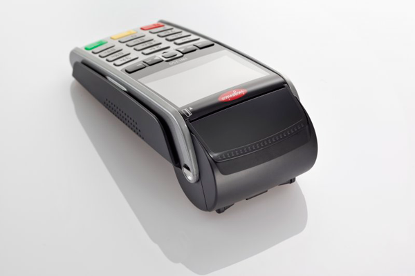 Ingenico Payment terminal iWL250 top rear view