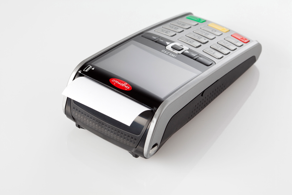 Ingenico Payment terminal iWL250 with paper